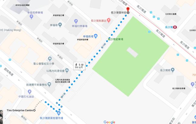 City Travel Lounge, Map